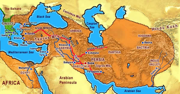 PersianEmpirejpg - Map of egypt and syria